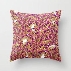 Color pieces Throw Pillow