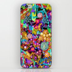 Wild Glitter iPhone & iPod Skin