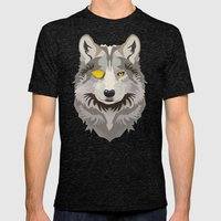 Odinwolf Mens Fitted Tee Tri-Black SMALL