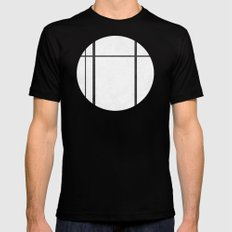 Grate SMALL Black Mens Fitted Tee