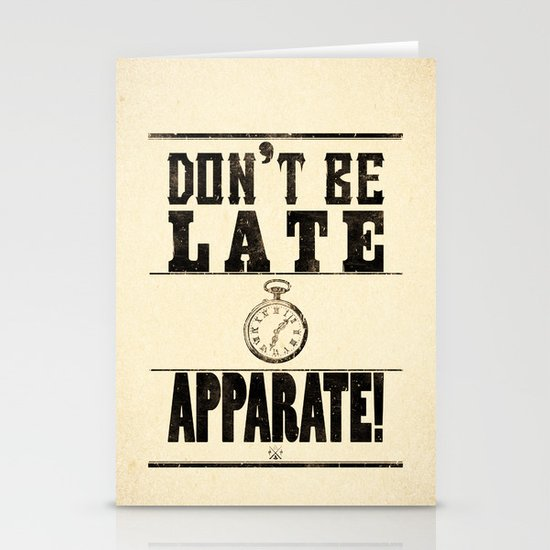 Apparate! Stationery Card