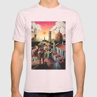 Assassin's Creed II Ezio… Mens Fitted Tee Light Pink SMALL