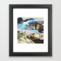 There Is Another Country… Framed Art Print