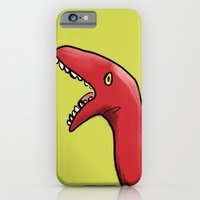 iPhone & iPod Case featuring Dinotea by Kassidy Daussin