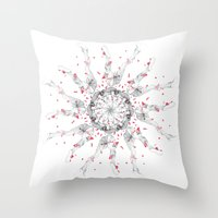Circuitry Surgery 4 Throw Pillow