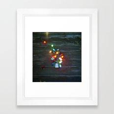 Vintage charm Framed Art Print