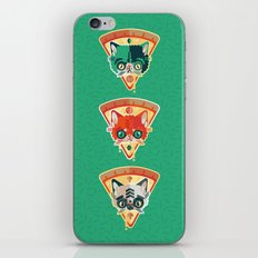 Pizza Slice Cats  iPhone & iPod Skin
