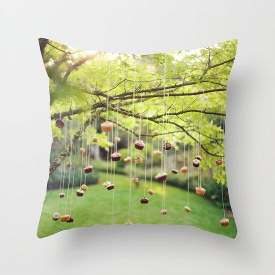 Cupcake Tree Throw Pillow