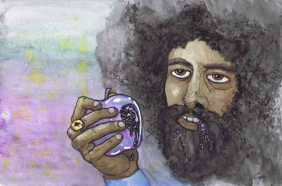 """Reggie Watts"" by Cap Blackard Art Print"