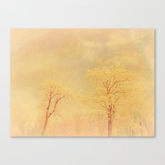 Love ~ Winter landscape Canvas Print