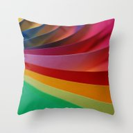 Color Paper 2 Throw Pillow