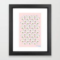 Koala pattern Framed Art Print