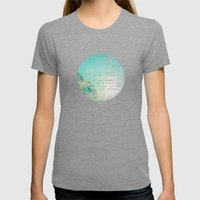 Dream Big Womens Fitted Tee Tri-Grey SMALL