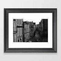 From Above Framed Art Print