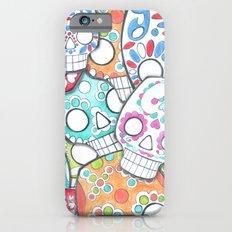 skulls sugar Slim Case iPhone 6s