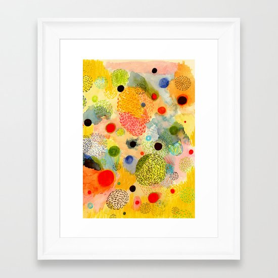 Youth Energy Framed Art Print