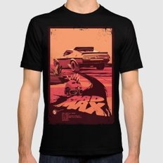 Mad Max Black SMALL Mens Fitted Tee