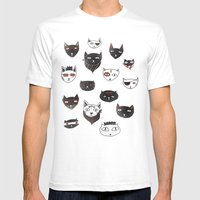 My Local Cattery Mens Fitted Tee White SMALL