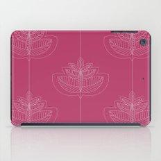 Modern leafs iPad Case