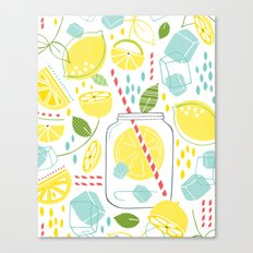 Summer Sippin' Canvas Print