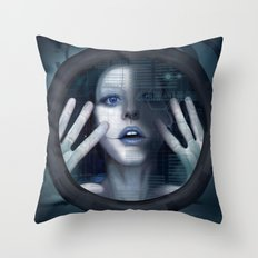 Untitled_oblò Throw Pillow