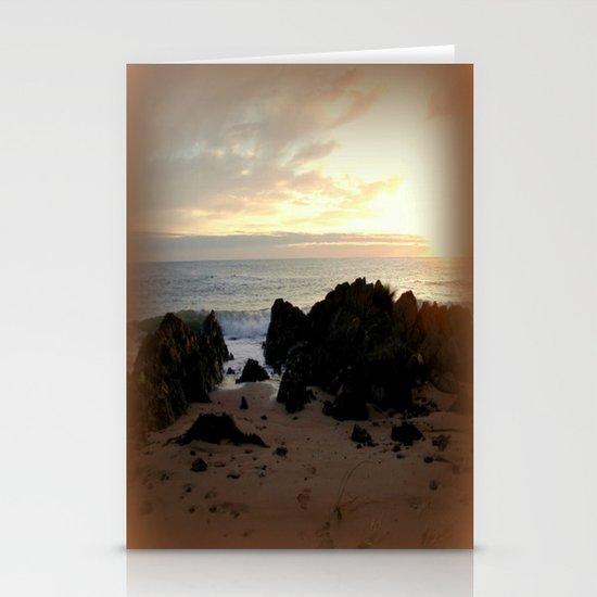 Sunrise in Tasmania  Stationery Card