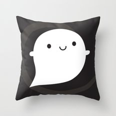 Spooky Wooky Ghost Throw Pillow