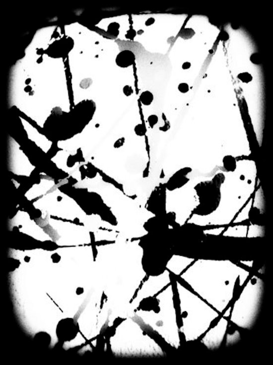 paint splatter 2 Art Print