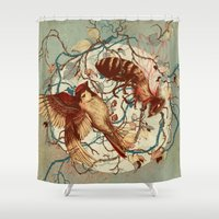 Honey & Sorrow Shower Curtain
