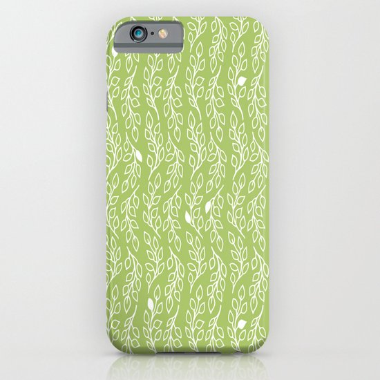 Pop Flowers Leaves iPhone & iPod Case