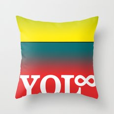 You Only Live Forever—Part III Throw Pillow