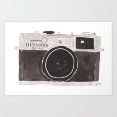 My Camera, Your Camera Art Print