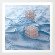 Marble Retainers Art Print