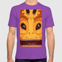 Pekoe Mens Fitted Tee Ultraviolet SMALL