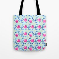 Roses and Vines Tote Bag
