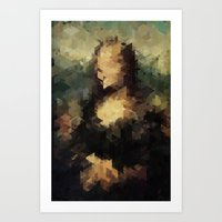 Panelscape Iconic - Mona Lisa Art Print