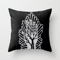 Palad (Palm) Throw Pillow