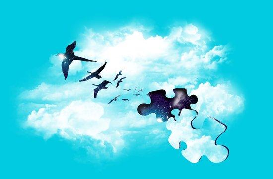 Sky is Fallin' Art Print