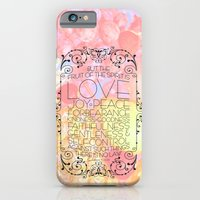 iPhone & iPod Case featuring Fruit of the Spirit by rollerpimp