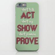 Motivational, Inspiring … iPhone 6 Slim Case