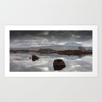 Rannoch Mor - Scotland Art Print