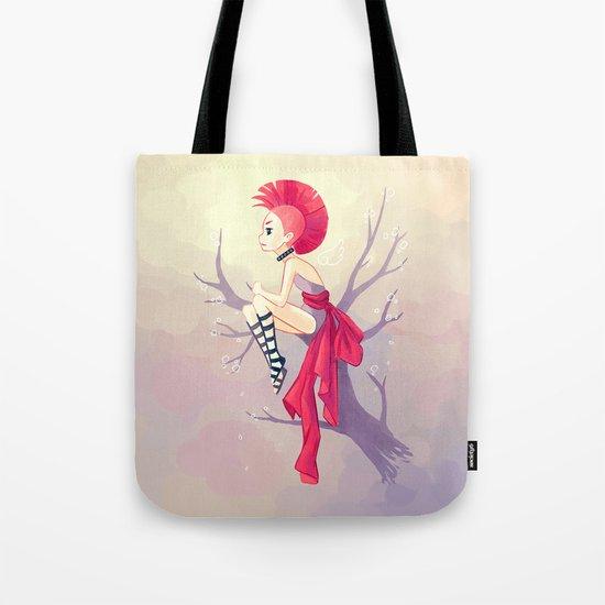Punk Girl Tote Bag