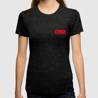 Sue Me Womens Fitted Tee Tri-Black SMALL