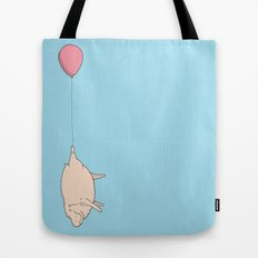 Hippo Delivery  Tote Bag
