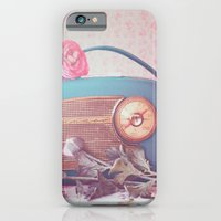 iPhone & iPod Case featuring Vintage Radio. by Julia Dávila-Lampe