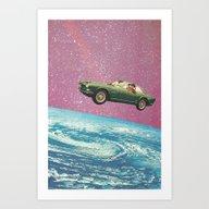 Art Print featuring Bon Voyage by Flirst