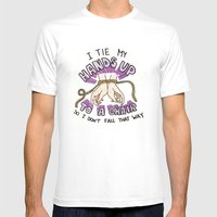 Helena Beats Mens Fitted Tee White SMALL