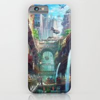 iPhone & iPod Case featuring Royal City Escadia  by Tyler Edlin Art