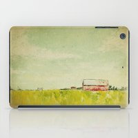 Oil painting house iPad Case