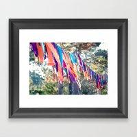 Flags of the Sisterhood Framed Art Print